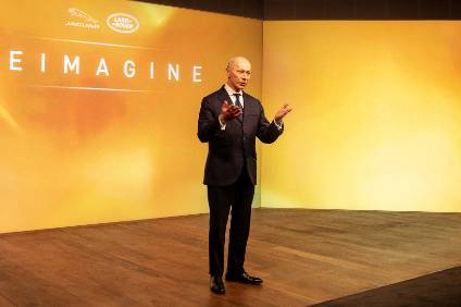 Break with the past: JLR CEO Thierry Bollore is reimagining the future for JLR and its two premium brands