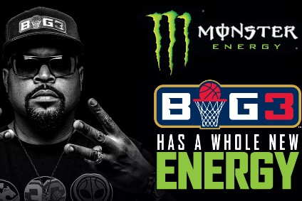 Monster Beverage Corp sponsors Big3 basketball league