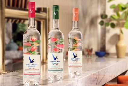 Bacardis Grey Goose Essences range