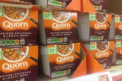 Quorn meal bowls on sale in the UK, February 2021