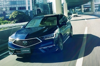 Updated Japan domestic market Legend/Acura has Level 3 autonomous capability; will be leased to only 100 customers to start