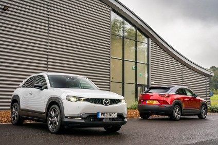 MX-30 launches in the UK with a First Edition and three regular trim levels