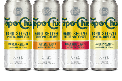 The Coca-Cola Co commenced the roll-out of Topo Chico hard seltzer in the US last month