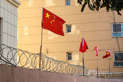 Muslim ethnic minorities are believed to be detained in Chinas Xinjiang region