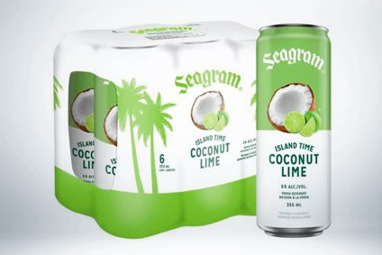 Waterloo Brewing Cos Seagram Island Time Coconut Lime