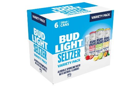 Anheuser-Busch InBev keeps FMB format for UK Bud Light Seltzer launch