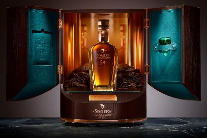 Diageo's The Singleton Paragon of Time Collection 54-year old single malt - Product Launch