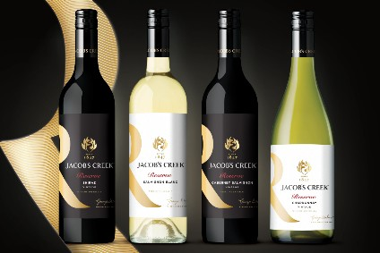 Pernod Ricard unveils makeover for UK Jacob's Creek Reserve