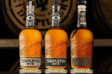 Templeton Rye updates packaging in global refresh