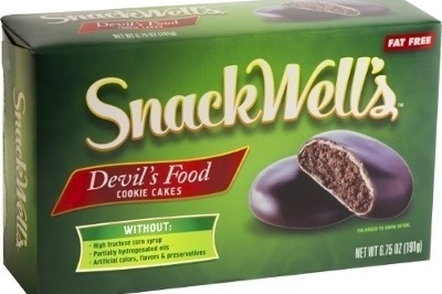 SnackWells latest addition includes Chocolate Mint flavoured Devils Food Cookie Cakes