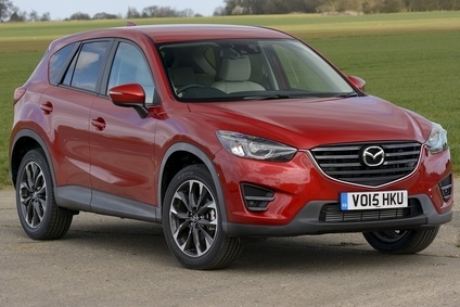 Latest CX-5 priced from £22,295 to £30,595