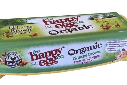 Noble Foods The Happy Egg Company brand launches organic lines in California