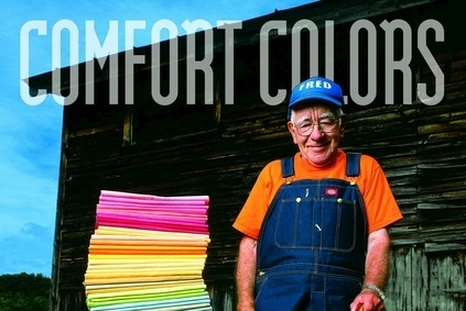 Comfort Colors supplies garment-dyed and undecorated T-shirts and sweatshirts