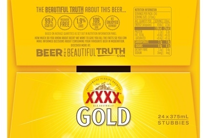 The details will appear across Lions beer range, including XXXX