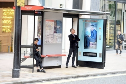 PepsiCo has installed a tweet-activated Walkers vending machine at bus stops in London