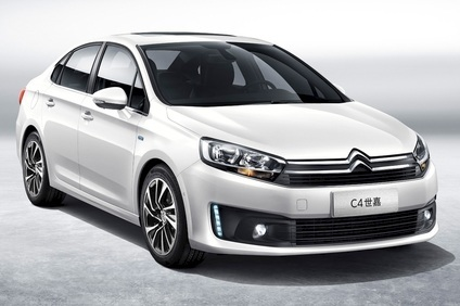 Dongfeng Citroën C4: on sale in the PRC in late 2015