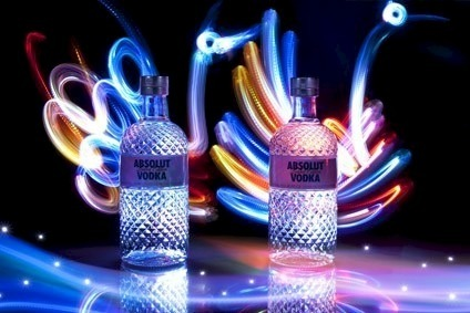 Absolut saw global sales and volumes fall