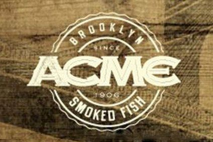 Acme has opened a smoked salmon plant in California