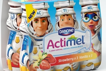 Danone hopes launch of product targeted at children will build on Actimel sales