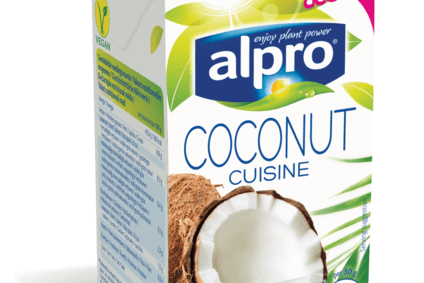 Alpro launches coconut cooking cream in uk for Alpro soya cuisine
