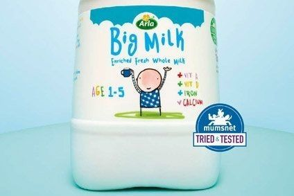 Arla has launched a nutrient-enriched milk in the UK