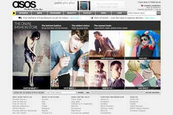 Shoppers on the Asos website and mobile app experienced technical problems