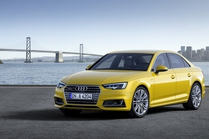 New generation Audi A4 saloon arrives late 2015 on new platform with much revamped powertrain; Avant wagon follows soon after