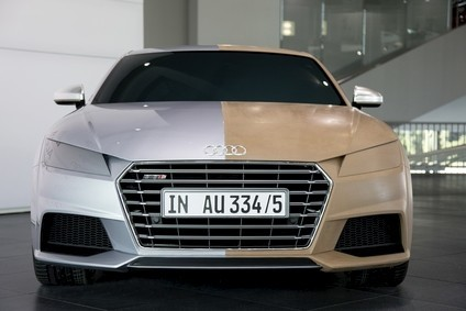 Redesigned TT out in October is second Audi to get LED headlights
