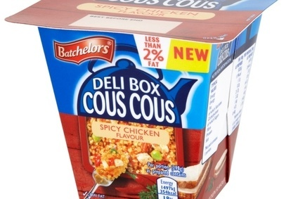 Batchelors has launched a new Cous Cous product as part of its Deli Box range