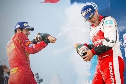 GH Mumm is the Champagne sponsor of Formula E racing