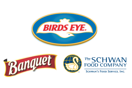 The Schwan Food Co., Birds Eye owner Pinnacle or brands like ConAgra's Banquet could be targets