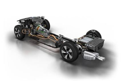 BMW has revealed this prototype PHEV drivetrain for its top selling 3 series line