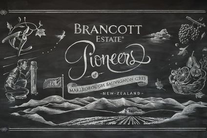 An image from Pernods new Brancott Estate campaign