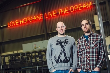 BrewDogs co-founders James Watt and Martin Dickie