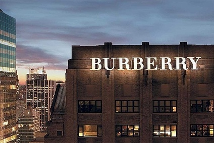 Burberry in strong position for festive rush