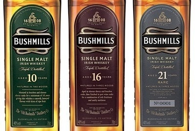 Diageo is exiting the Irish whiskey category with the sale of Bushmills