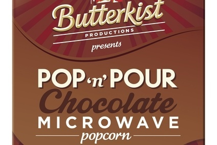 Tangerine Confectionery launches Pop n Pour under the Butterkist brand