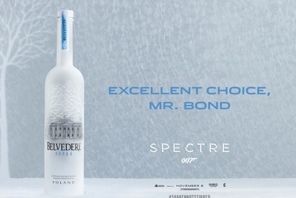 The Belvedere Bond ad campaign will launch in February