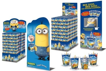 Capri-Suns tie-up with Minions marks the brands largest marketing campaign