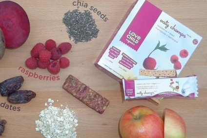 Love Child makes a range of organic kids foods including purees and snacks