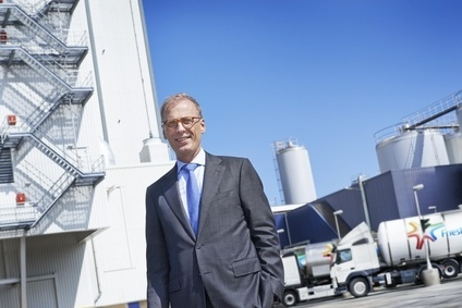 Friesland Campina CEO Cees t Hart reports the firm saw profits fall in the first half of 2014