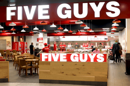 Five Guys among US burger chains to enter - or set to enter - UK