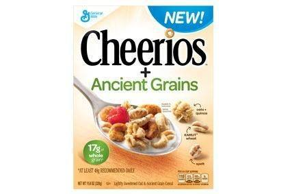 General Mills planning to boost US cereal sales through new products like Cheerios Ancient Grains