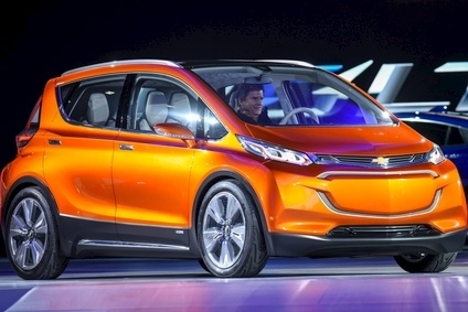 GM is aiming for a retail price of around USD30,000 for the Bolt