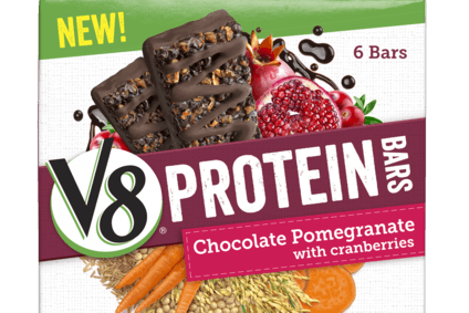 Campbell pushes into protein with V8-branded products
