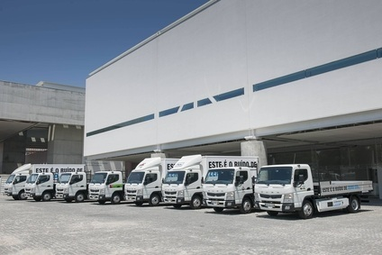 The eight electric trucks were trialled on different jobs by multiple users including cities and transport companies