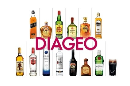 Diageo saw sales and volumes fall in its first quarter