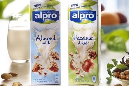 Alpro has decided to keep the production of its nut-based milks and soya milks separate.