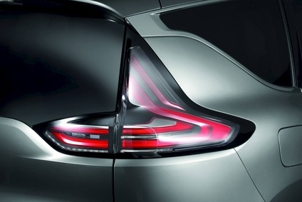 Hellas LED rear tail lamp is integral to the look and design of Renaults latest Espace