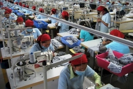 Cambodias garment and footwear exports rose 10.6% during the first quarter